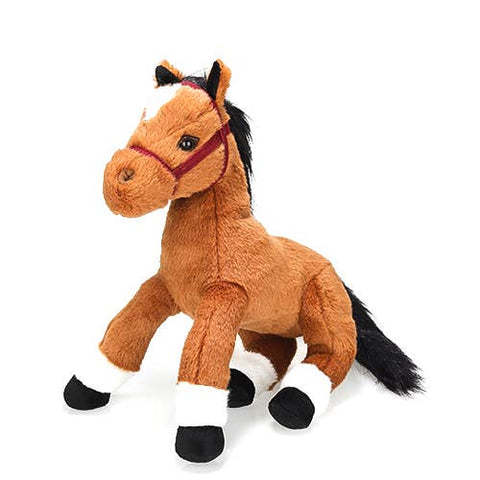 Plushland Resting Horse Stuffed Animal