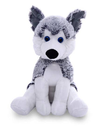 Plushland Pawpal Husky Stuffed Animal