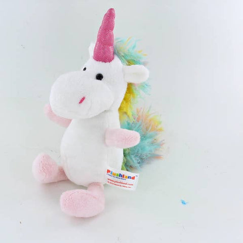 "Plushland Magical Unicorn 8"" Stuffed Animal"