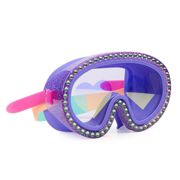 Bling2o Big Heart Glitter Swim Mask *Pick Your Color*