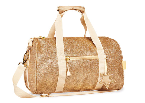 Sparkalicious Gold Duffle Bag [Medium]