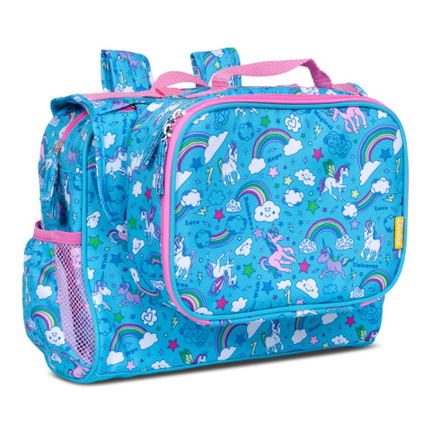 Rainbows & Unicorns Backpack Lunchbox Set