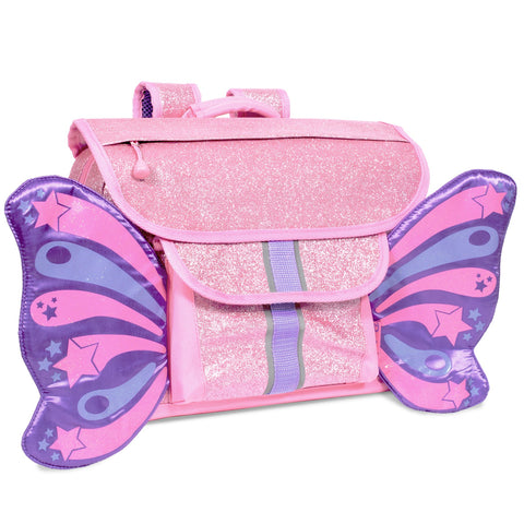 Sparklicious Pink Butterflyer Backpack [SMALL]