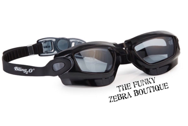 Bling2o Black Knight Goggles