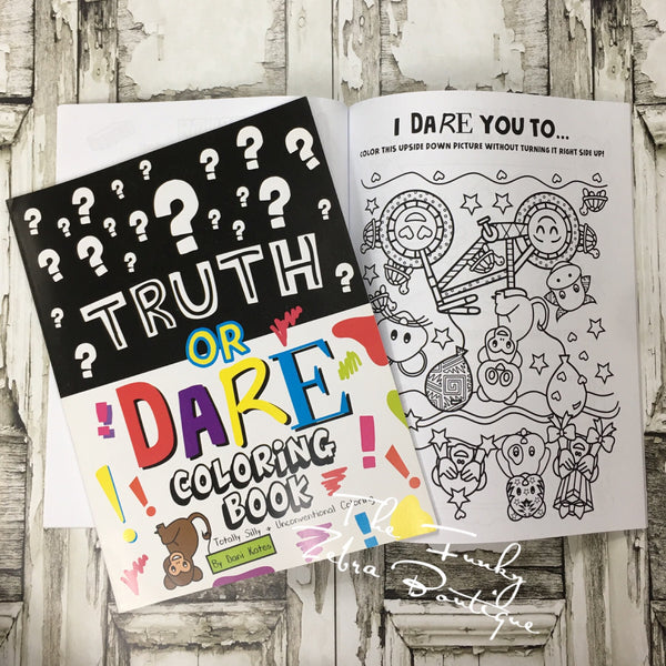 Coloring Book Truth or Dare