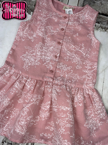Lyra Pink Dress Size 3/4, 5/6, 7/8