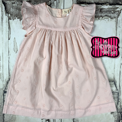 Hannah Dress in Blush Size 3/4, 5/6, 7/8