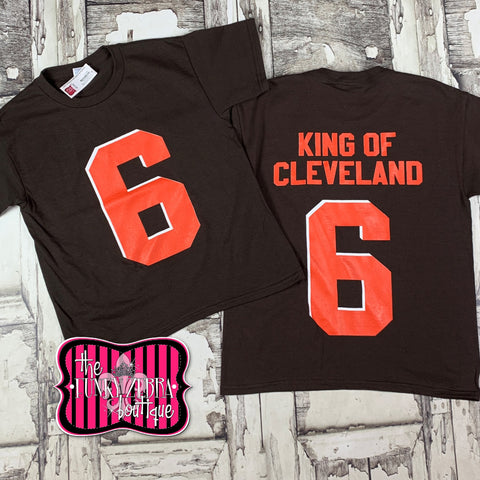 Bake King of Cleveland Tee Size 14/16-20/22