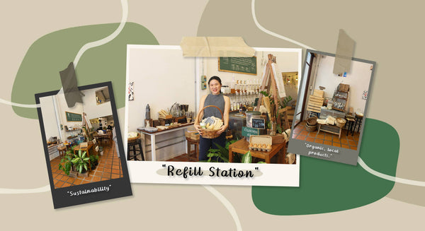 LET'S TALK SUSTAINABILITY WITH REFILL STATION