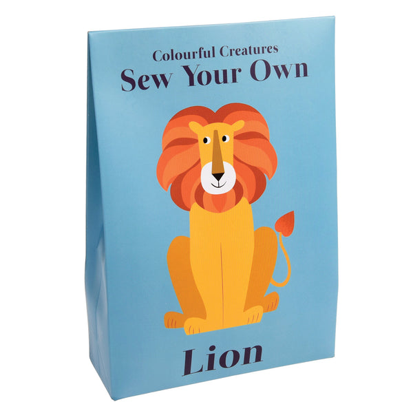 Rex london Sew your own Charlie the lion