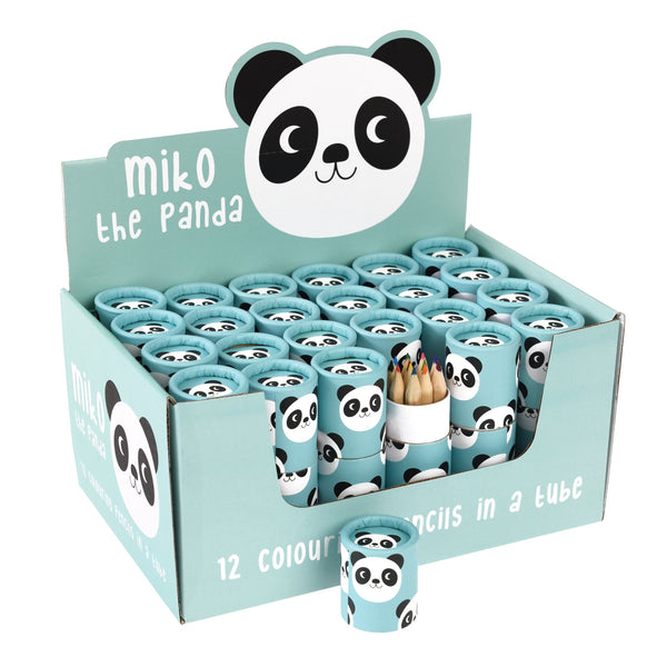 Rex London Colouring pencils miiko the panda