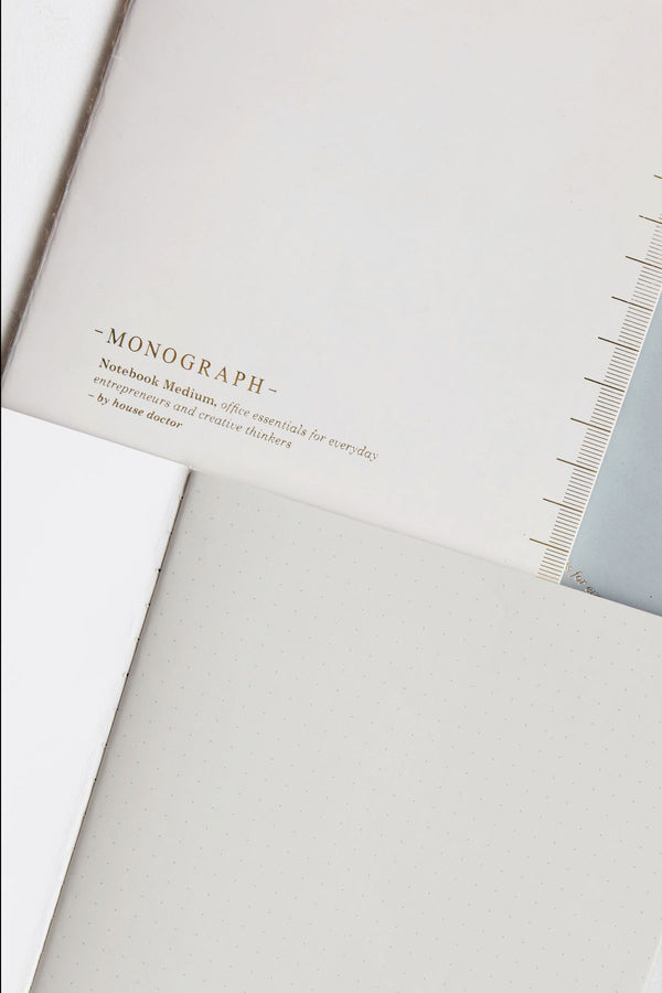 Monograph A4 Soft Notebook Grey