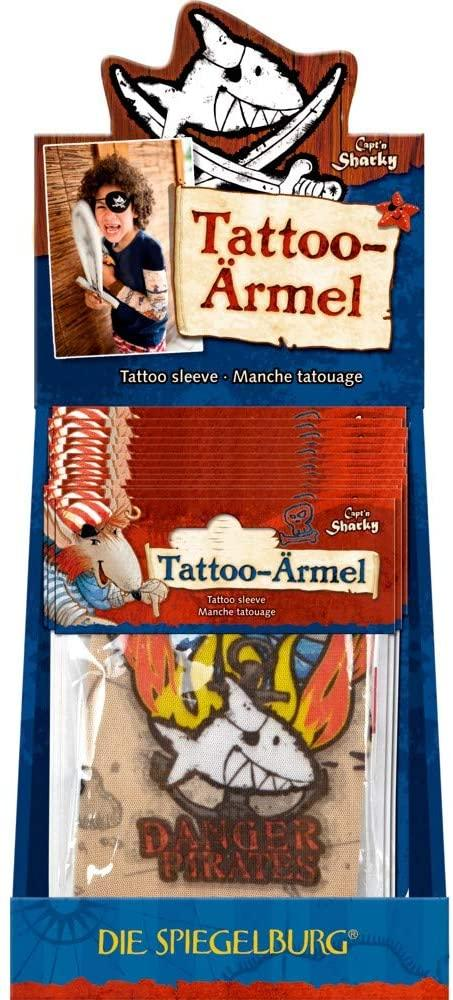 Die Spiegelburg brand tatoo sleeve prints capt'n sharky