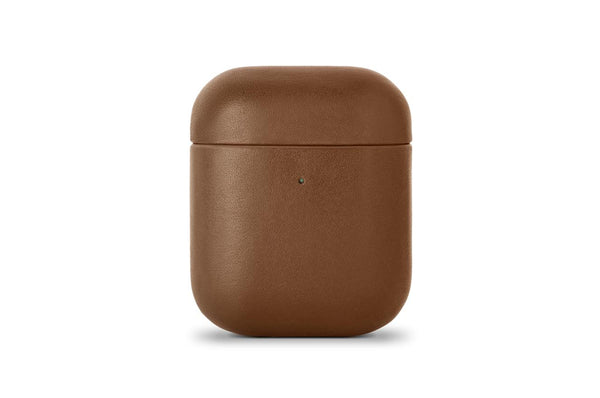 Native Union Leather Case for AirPods Brown