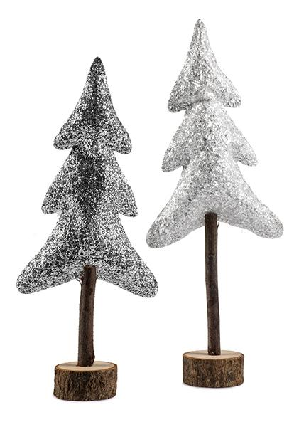 BADEN Tree Silver 48 cm Assorted