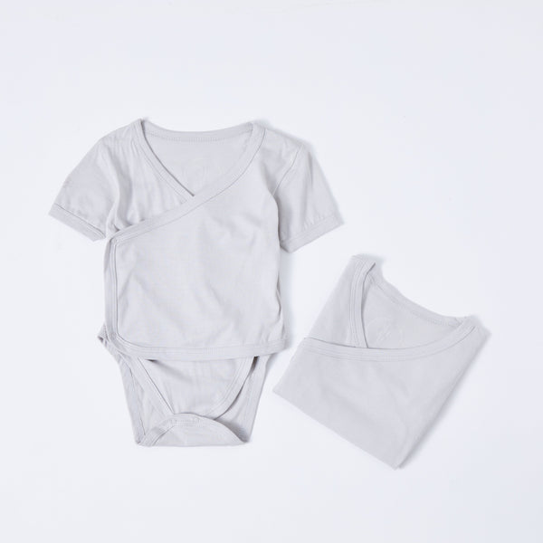 Bamboobubs baby collection kimono pyjama