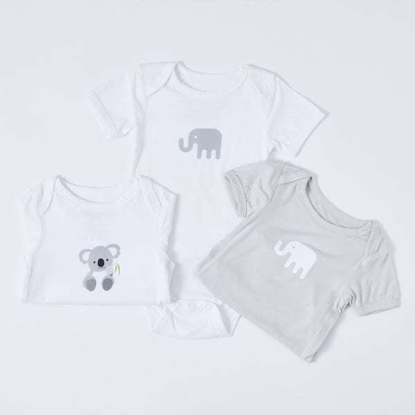 Bamboobubs baby collection onesies set