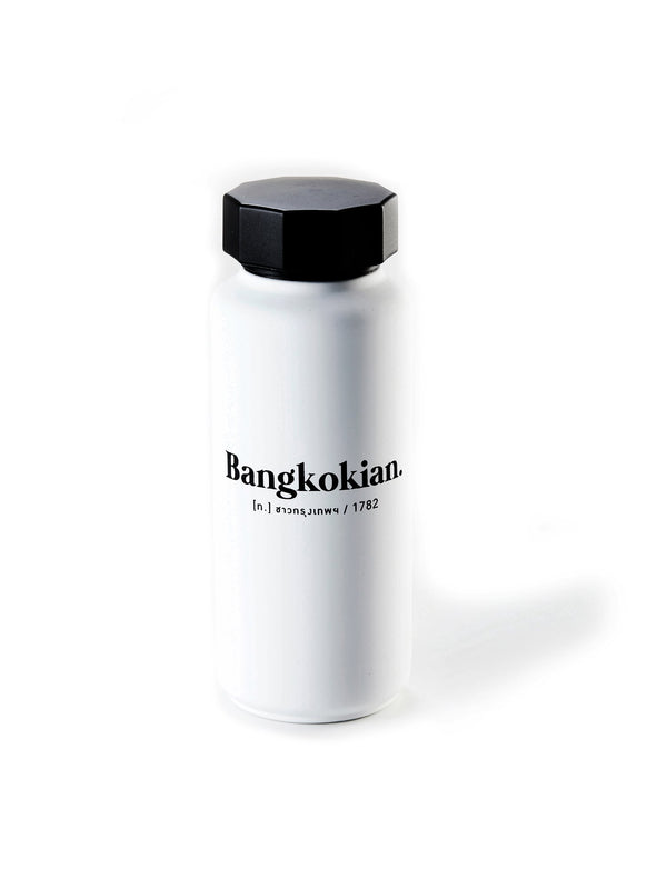 Bangkokian design letters thermo bottle exclusive collection