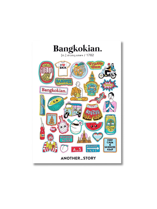 Bangkokian sticker exclusive collection