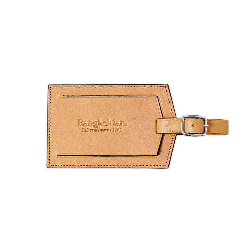 Bangkokian Luggage Tag Tan by Another Story