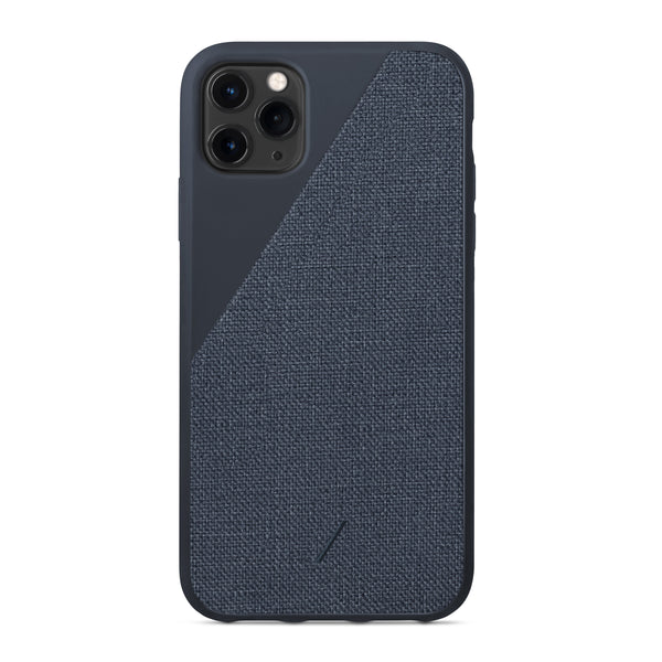 Native Union Clic Canvas iPhone Case Navy