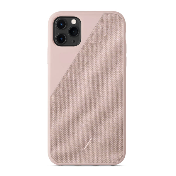 Native Union Clic Canvas iPhone Case Rose