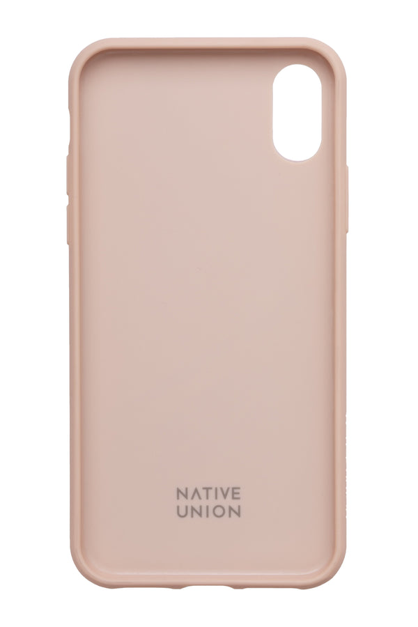 Native Union Clic Marquetry iPhone Case Rose