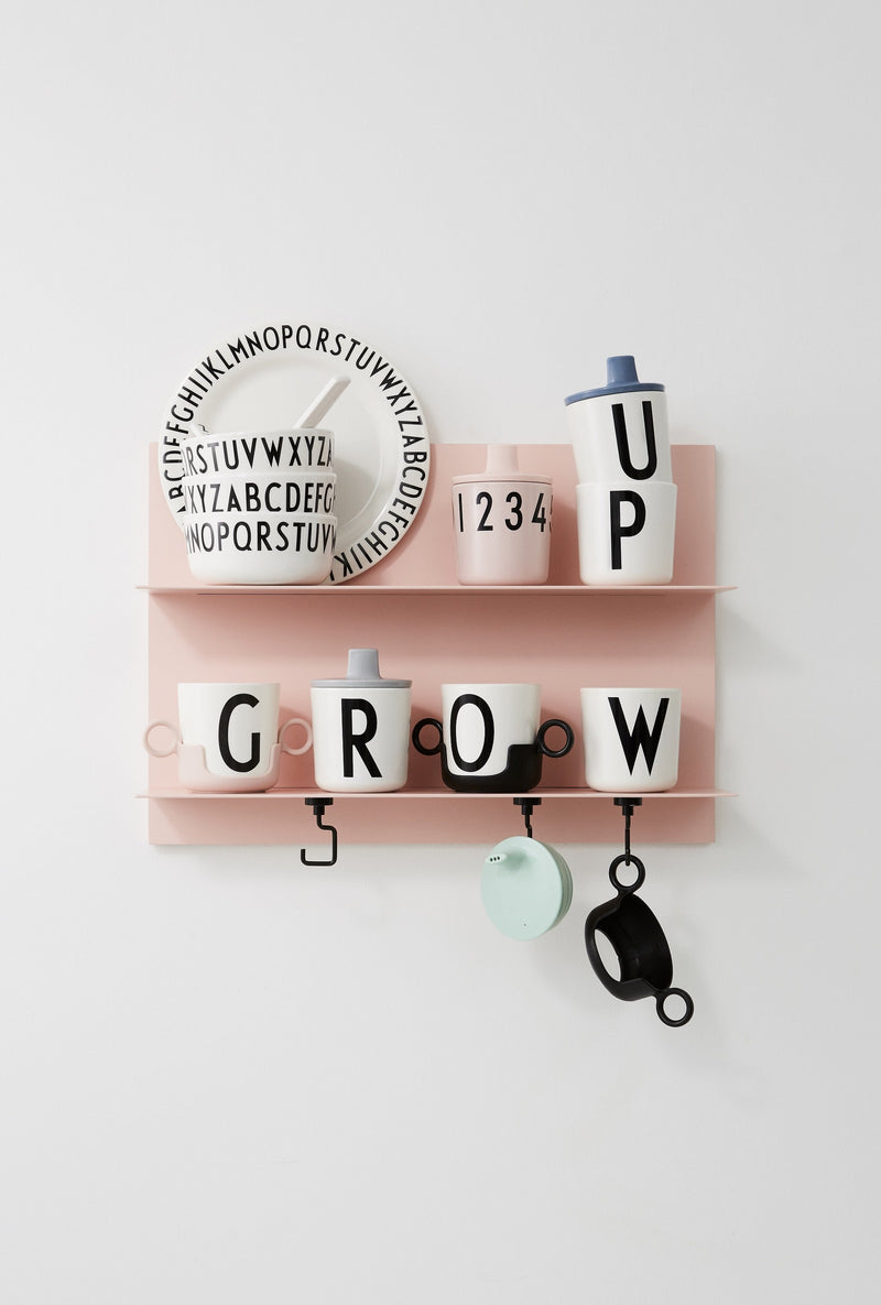 Design Letters Cup handle, Pink