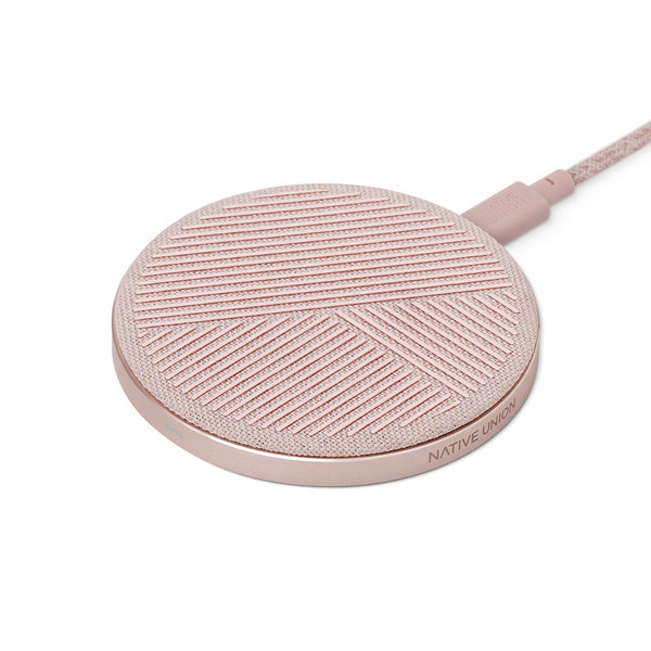 Native Union Drop Wireless Charger Rose
