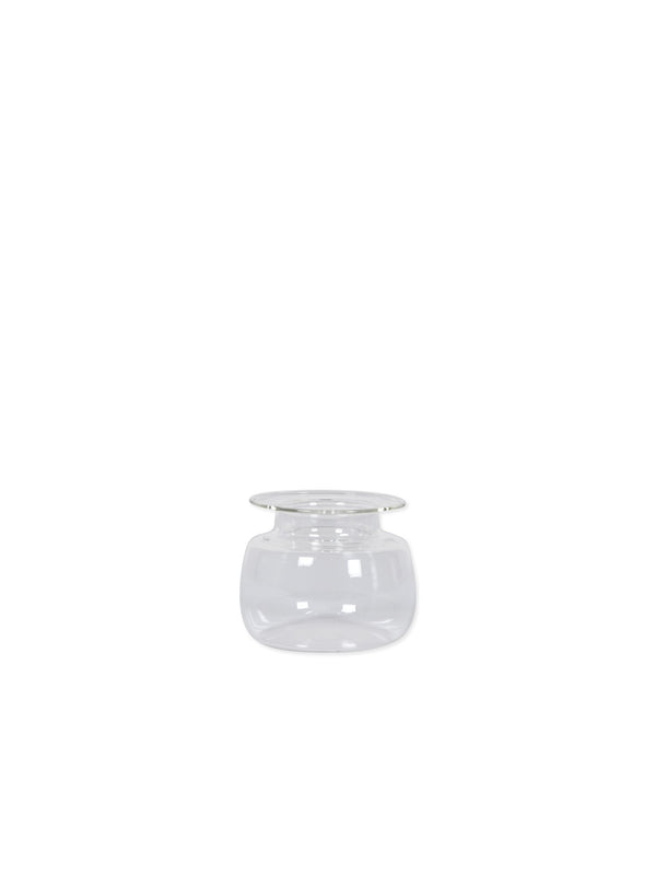 Eno Vase Valin transparent small