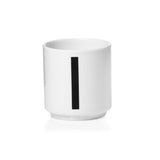 Design Letters Espresso Cups Single  Pack Numbers