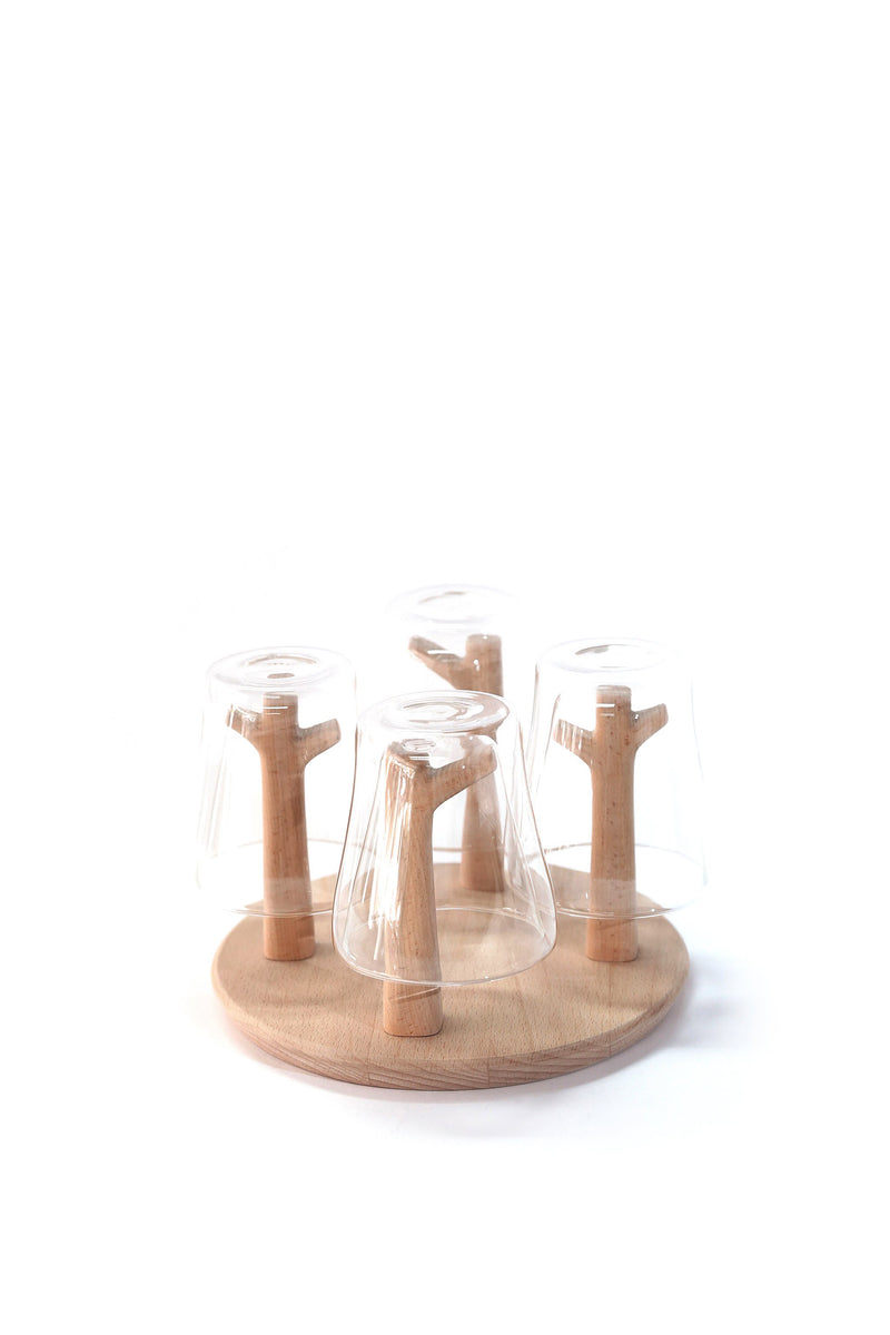 Chabatree Forest Glass Stand Set