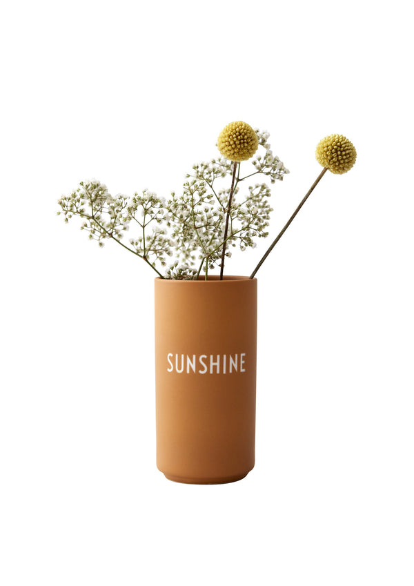 Design Letters Favourite vase, SUNSHINE