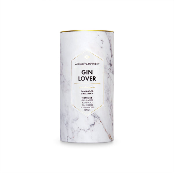 Men's Society Gin Lover Accessory & Tasting Kit