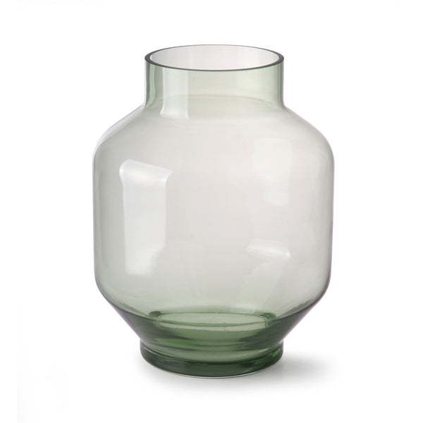 HK Living Green Glass Vase Large