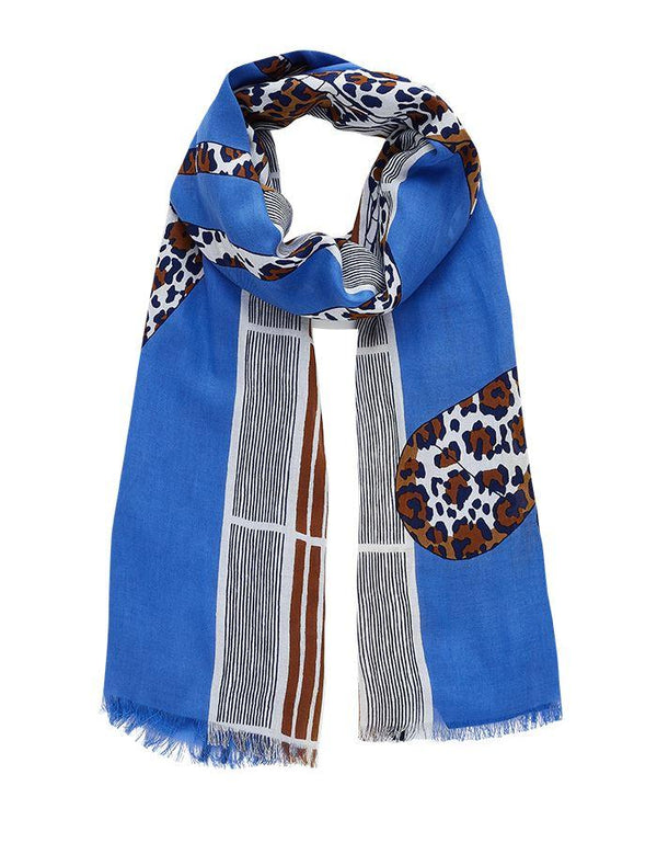 Inouitoosh spring summer collection scarves karl blue