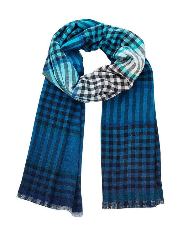 Inouitoosh spring summer collection scarves lapis turquoise