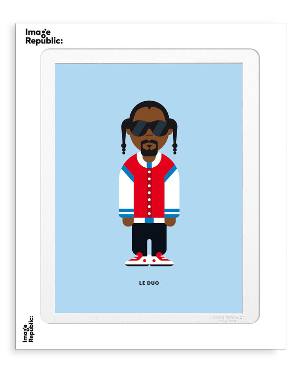 Image Republic Le Duo Solo 27 Snoop Dogg Print