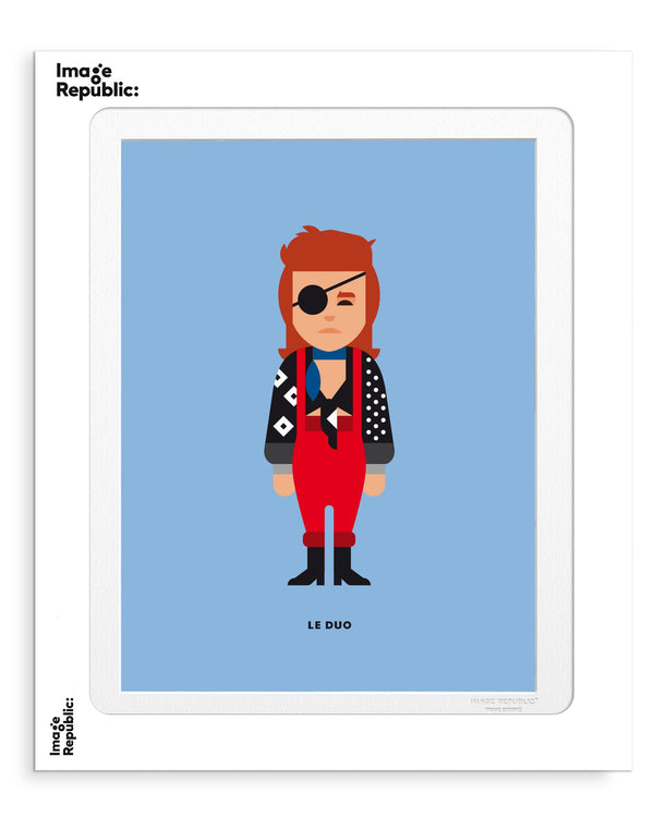 Image Republic Le Duo David Bowie Print