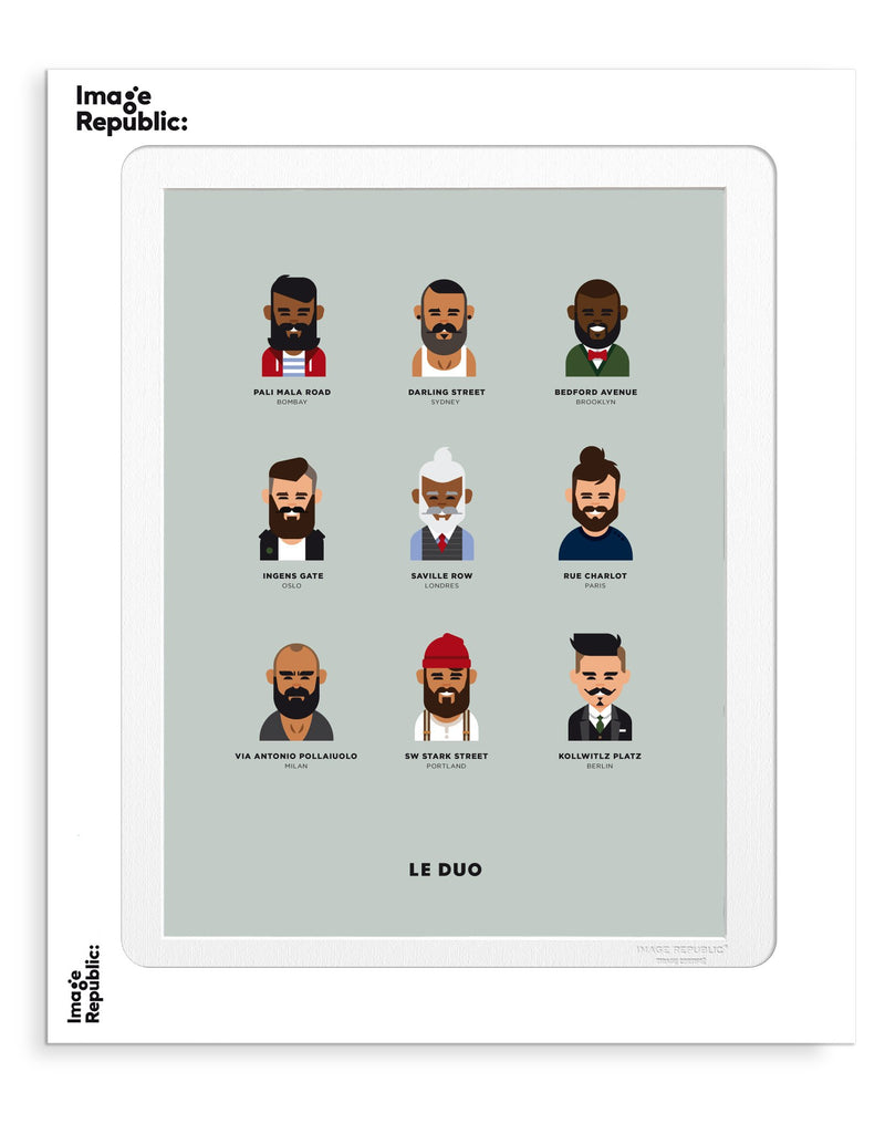 Image Republic Le Duo Hipster Print