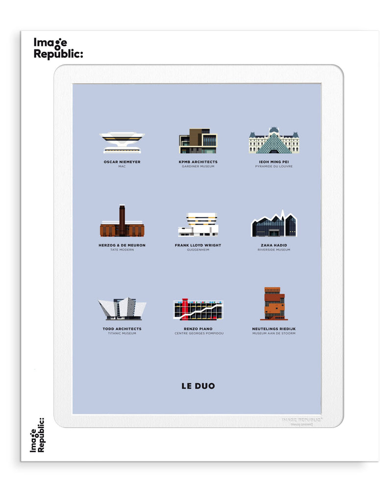 Image Republic Le Duo Museums Print