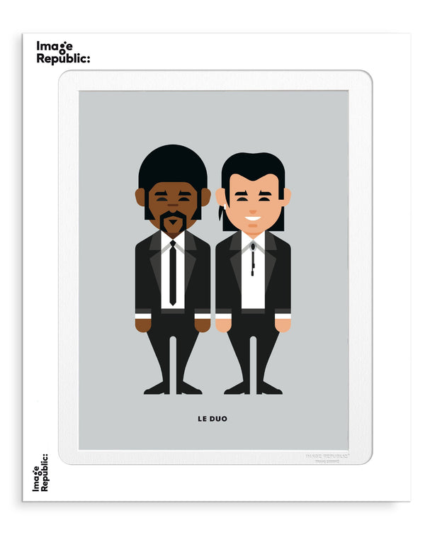 Image Republic Le Duo Solo 25 Pulp Fiction Print