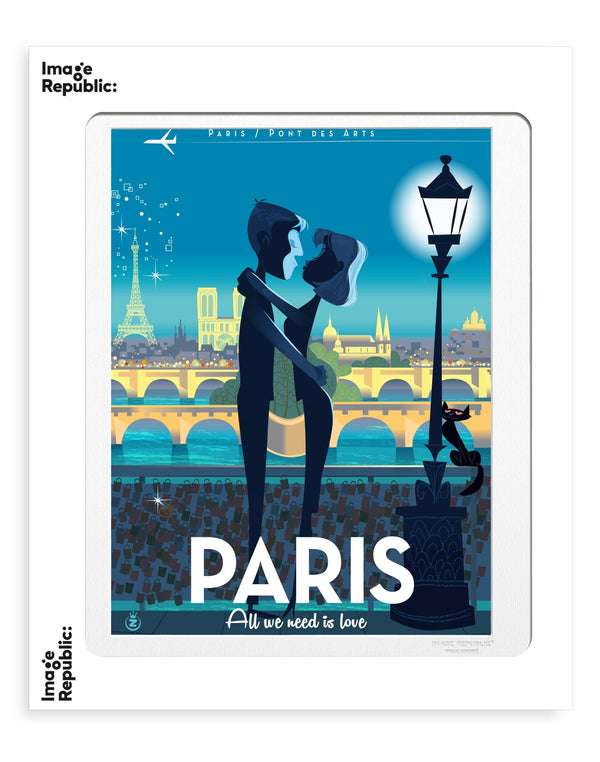 Image Republic Monsieur Z Paris Print