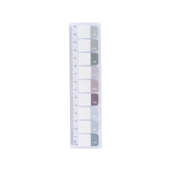 Monograph No. 1-9 Sticky Index Markers