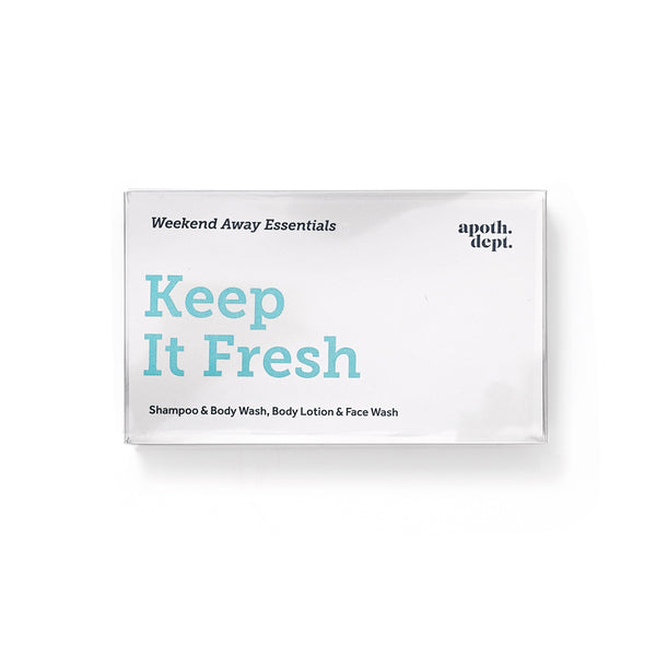 Men's Society Keep It Fresh Weekend Away Essentials