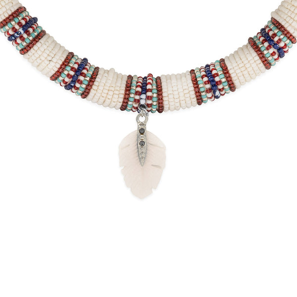 Kinshasa choker necklace Hipanema