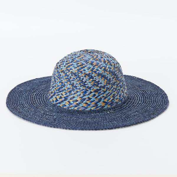 Naturellement handcrafted natural straw hat Lac