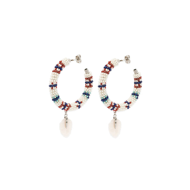 Lulu hoops earrings Hipanema