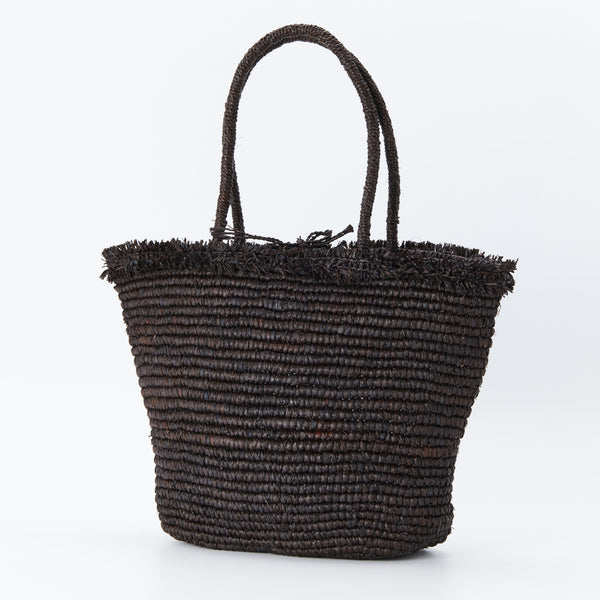 Naturellement handcrafted natural straw bag Mathis