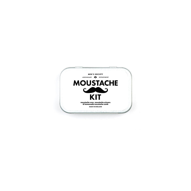 Men's Society Moustache Grooming Kit
